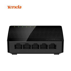 Tenda SG105 Mini 5-Port Desktop Gigabit Switch/Fast Ethernet Network Switch LAN Hub/ Full or Half duplex Exchange,EU/US Firmware