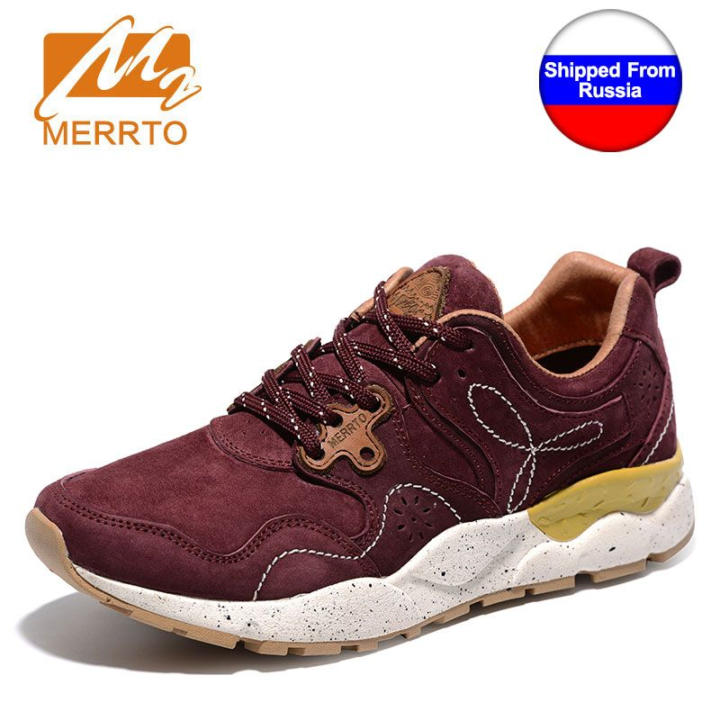 Ship from RU MERRTO Outdoor Sport Shoes Female Light Weight shoes Running Shoes for Women Breathable Off road Jogging Walking