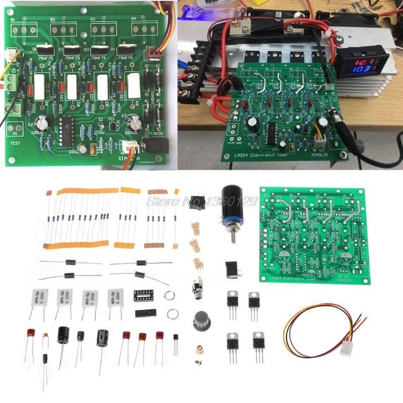 Kits bricolage 150 W 10A testeur de capacité de batterie réglable courant constant Test de décharge de charge électronique AUG_22 livraison directe