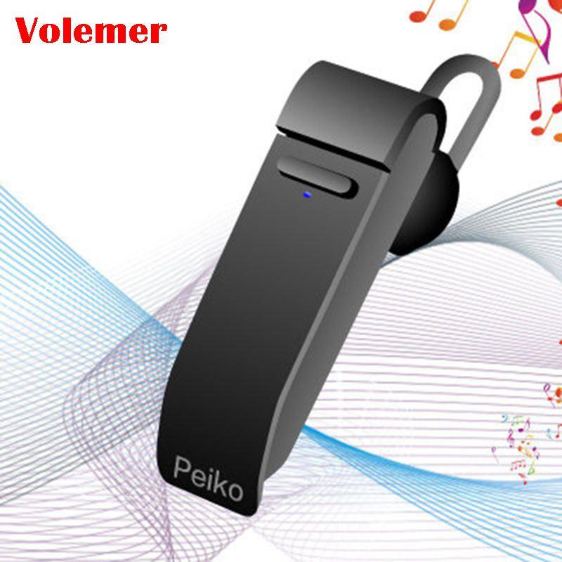 Volemer traducteur vocal Peiko 16 langues Intelligent sans fil Bluetooth traduire écouteur affaires téléphone Mobile casque