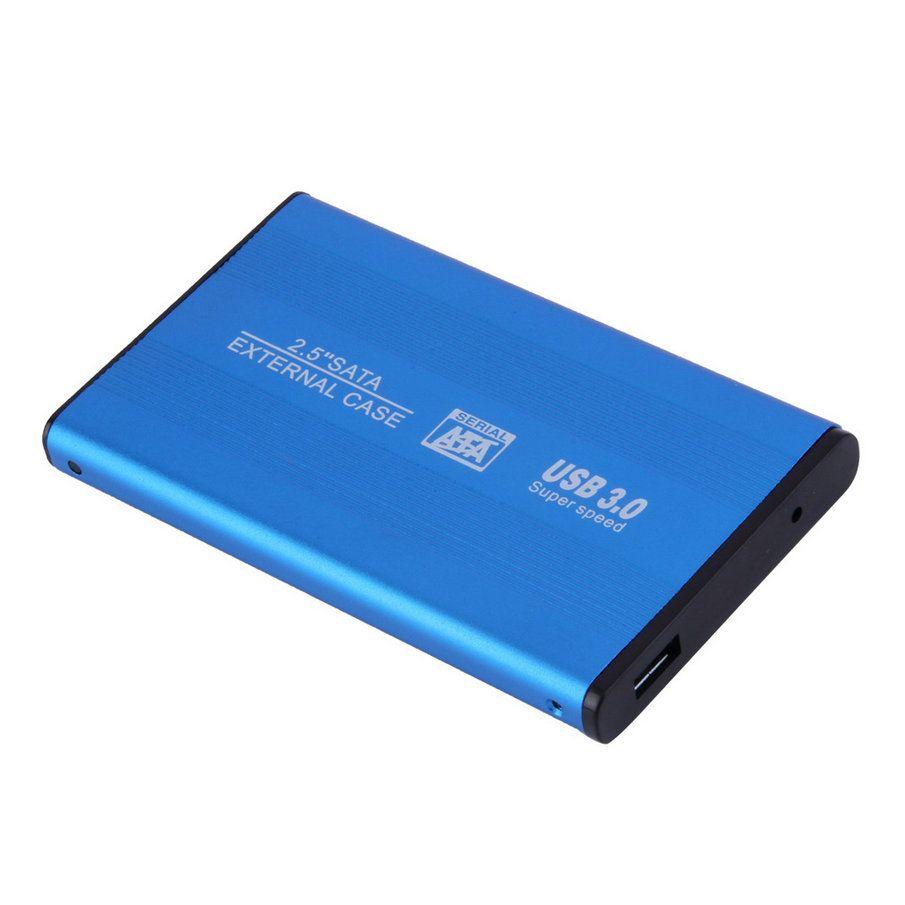 Boîte hdd 2.5 usb 3.0 HDD Case DISQUE Dur SATA Externe boîtier disque dur cas pour ordinateur portable hdd adaptateur bleu livraison gratuite