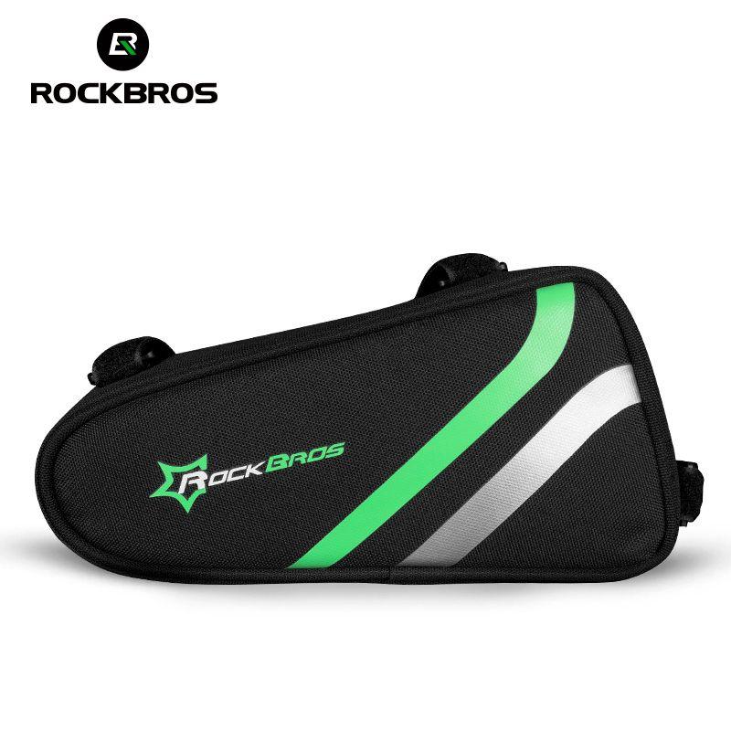 ROCKBROS vtt vélo de route sac de vélo sac Tube étanche ultraléger Portable réfléchissant sacs vélo selle sacs de vélo