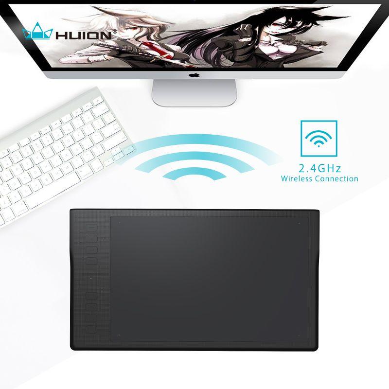 HUION Inspiroy Q11K tablette numérique sans fil professionnel Animation Art graphique dessin tablette stylo écriture tablette