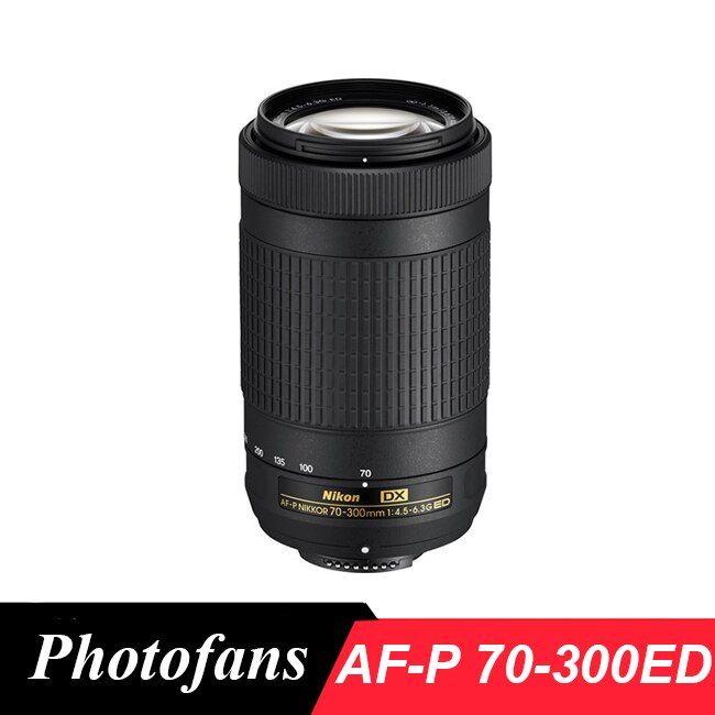 Nikon 70-300 AF-P DX 70-300mm f/4.5-6.3G ED objectif pour D7200, D7100, D5600, D5500, D5300, D5200, D3400, D3300, D500