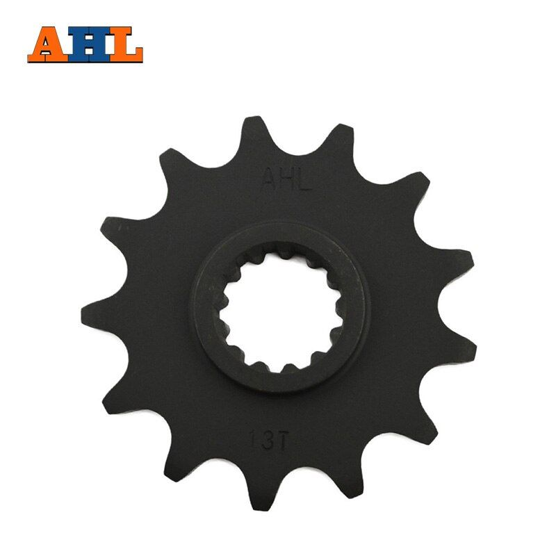 AHL Motorcycle parts Front Sprocket Motor Gear for SUZUKI DR250 DRZ400 Jonathan350 KLX400 type 520 13 Tooth Beyond the