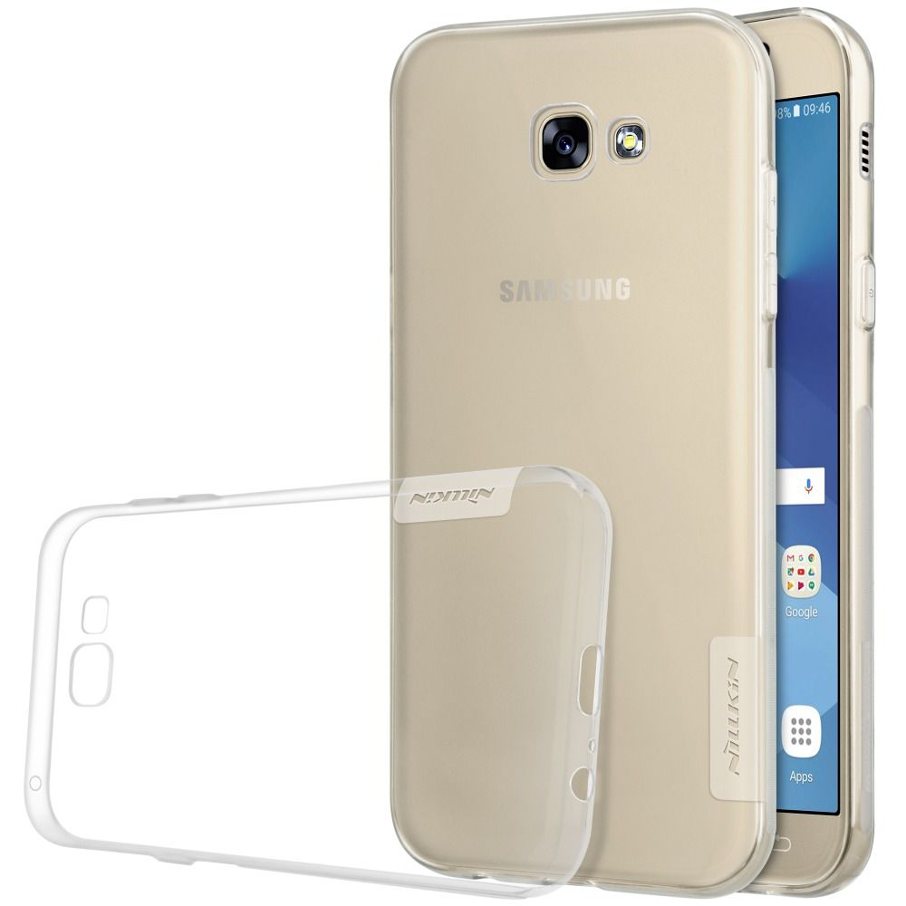 NILLKIN Transparent Nature TPU Case For Samsung Galaxy A3 2016/ A3 A5 A7(2017 version A320 A520 A720) Clear Soft Back cover