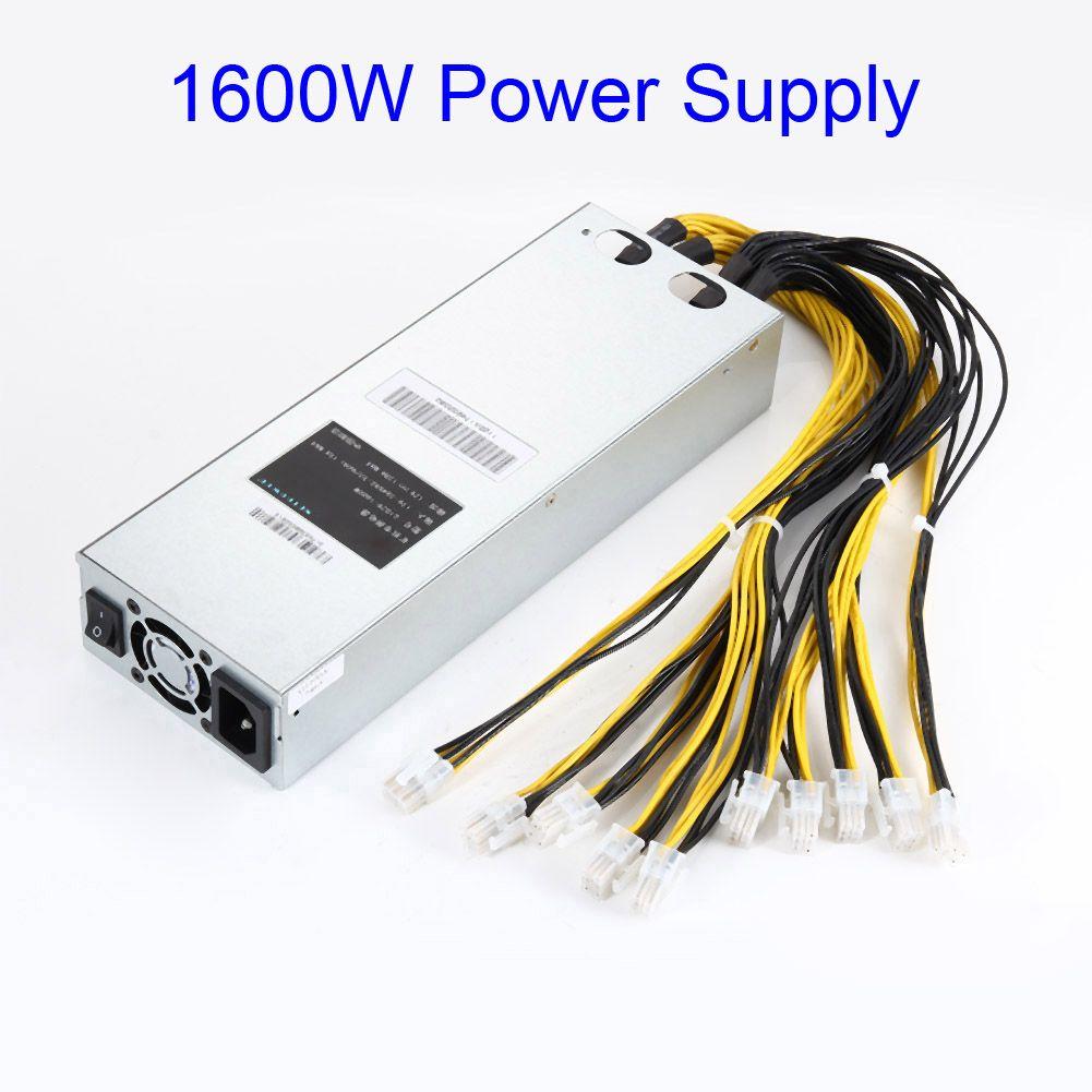 Neue 1600 Watt APW3 Bergbau Stromversorgung Passt Für Antminer Miner S9 S7 L3 + D3 QJY99