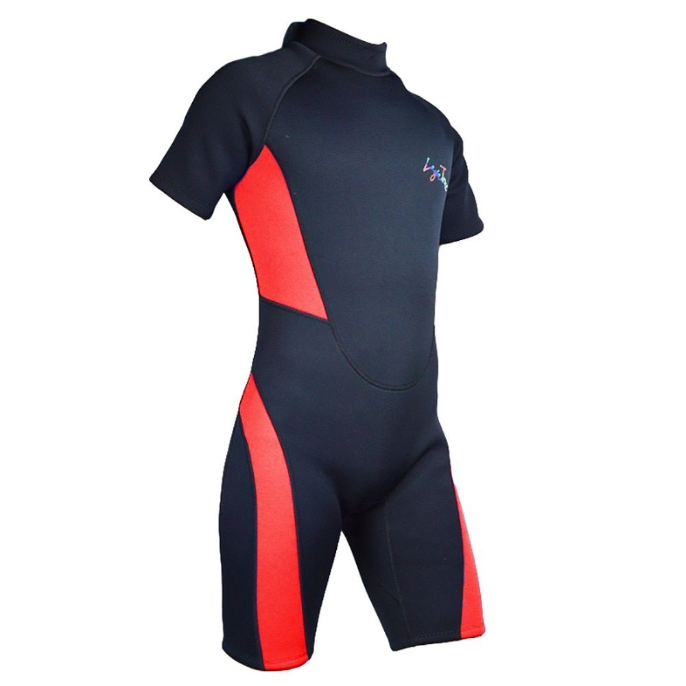 Neoprene Wetsuit 3mm SBR Diving Suit Short Pants Plus-size Sleeves Pants Swimwear For Men Women Swimming Diving Surfing