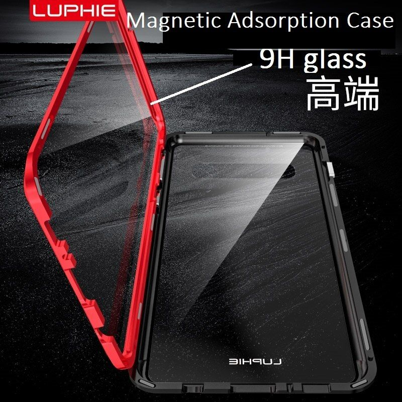 360 full Magnetic Adsorption Case For Samsung Galaxy S10 S8 S9 Plus Note 9 Tempered Glass The front Back Cover Cases fundas