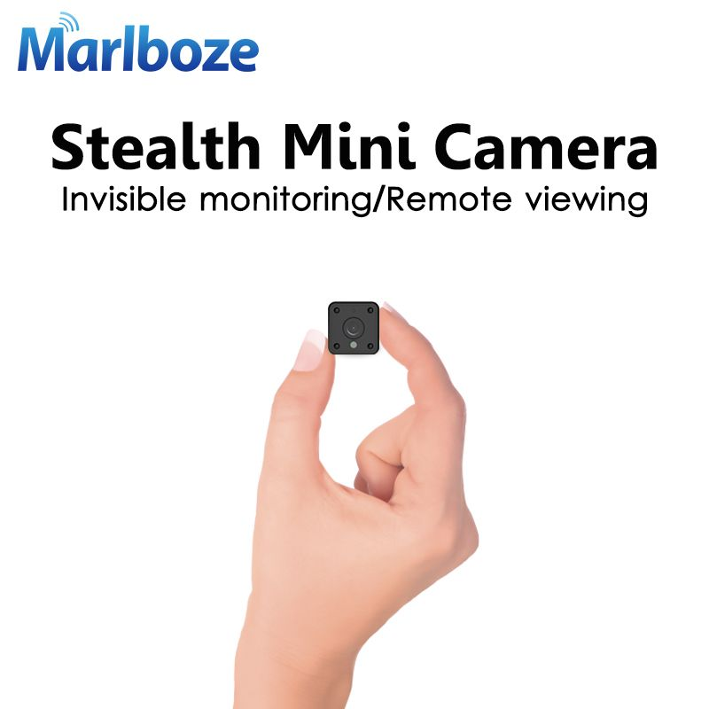 Marlboze 720P HD WIFI Mini IP Camera Night Vision Motion Detect Mini Camcorder Loop Video Recorder Built-in Battery Body Cam