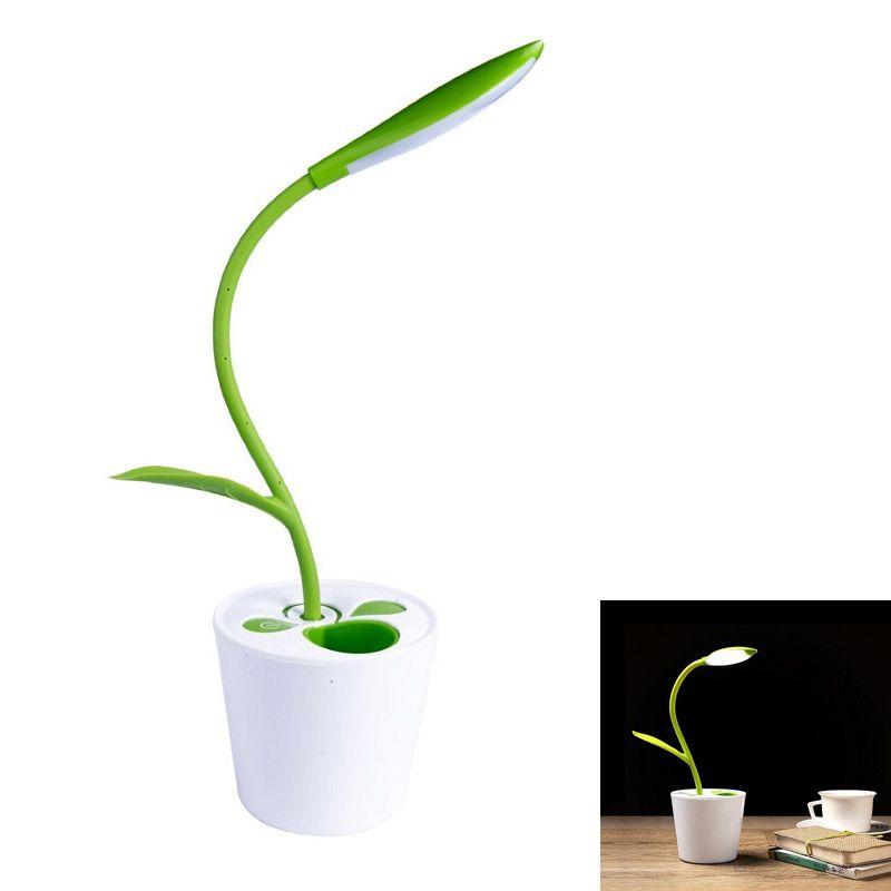 Schreibtisch Lampe 3,7 V USB-Wireless-LED Lesen Schreibtisch Licht mit 3-way Schalt mit Decor Anlage Bleistift Halter QJY99
