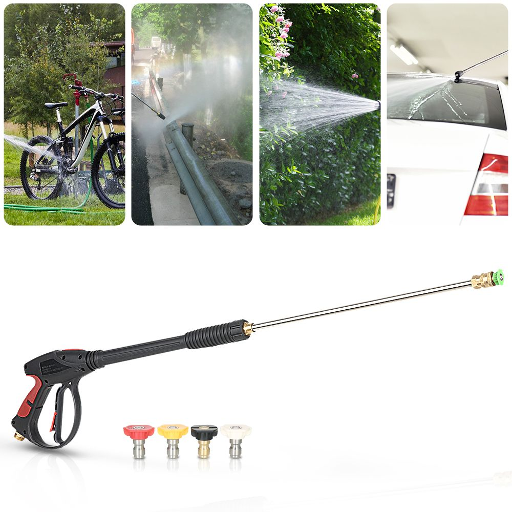 Pressure Washer Gun 4000 PSI Spray Gun with 18