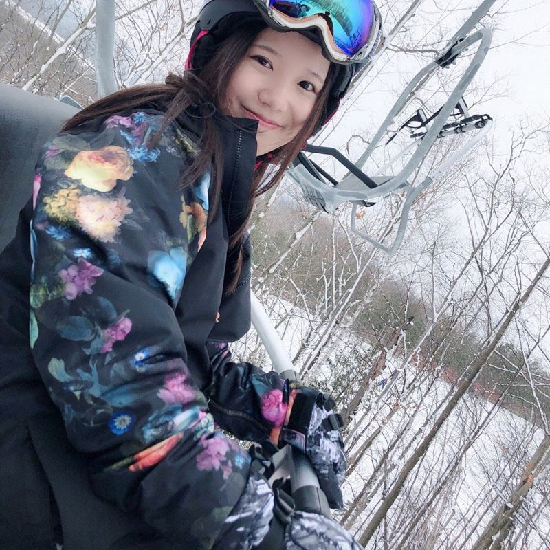 2018 new wintersport ski jacket women snowboard snow jacket mountain skiing clothing veste ski femme waterproof windproof