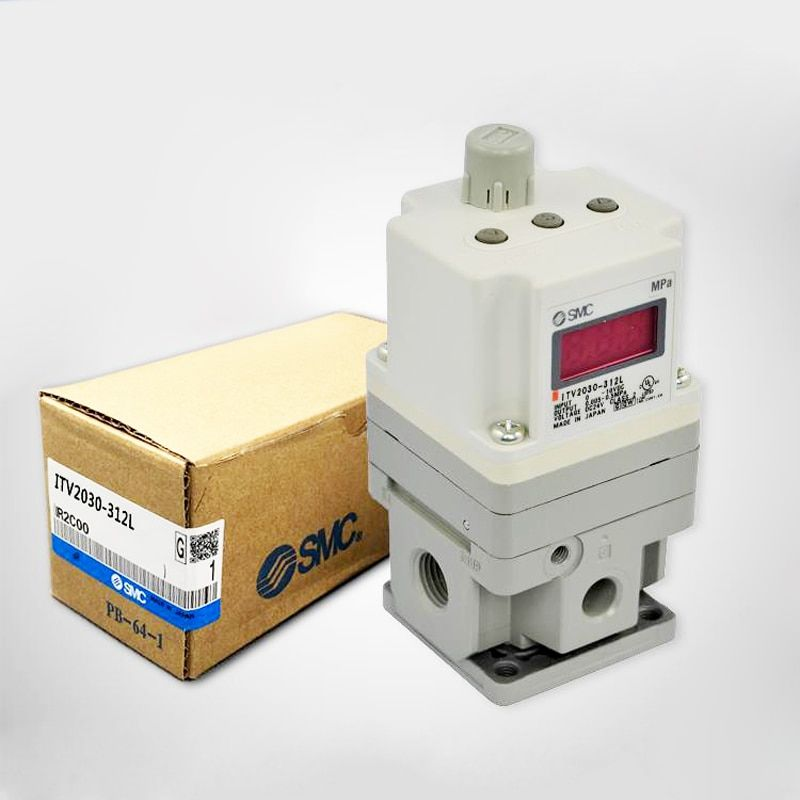 SMC Electronic Vacuum Regulator/ Electro-Pneumatic Regulator ITV2030-312L for Pneumatic Equipment Control Air pressure