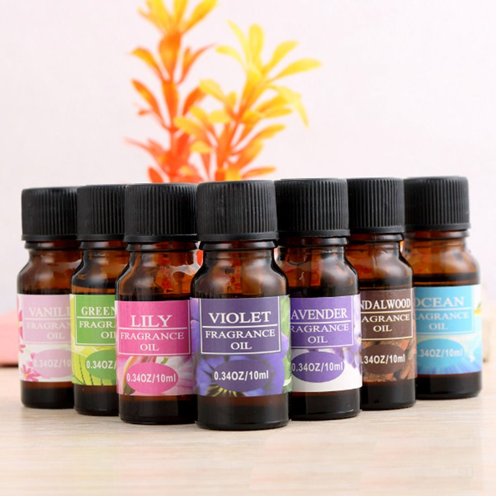12 Flavors/Set Plant Aromatherapy Essential Oil Used For Humidifier Special Water-soluble Flavor Oil Fresh Air Reduced Pressure