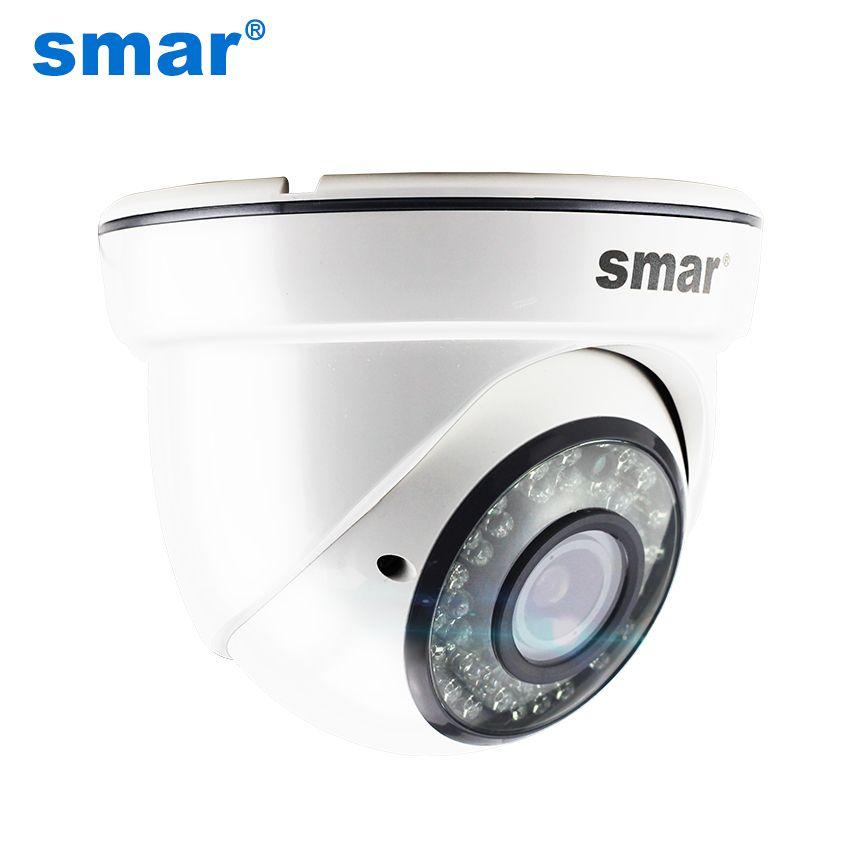 Smar H.265 1080 p 20FPS HD Dome IP Kamera Mit 4X Zoom 2,8-12mm Manuelle Vario-objektiv 36 IR Leds Hohe Qualität Kunststoff Fall Neue