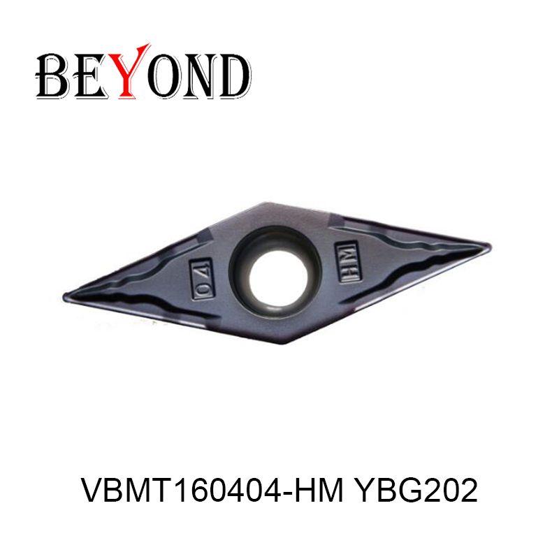 VBMT160404-HM YBG202, original ZCC hartmetall einfügen VBMT 160404 HM YBG202 verwenden für drehen werkzeug halter langweilig bar