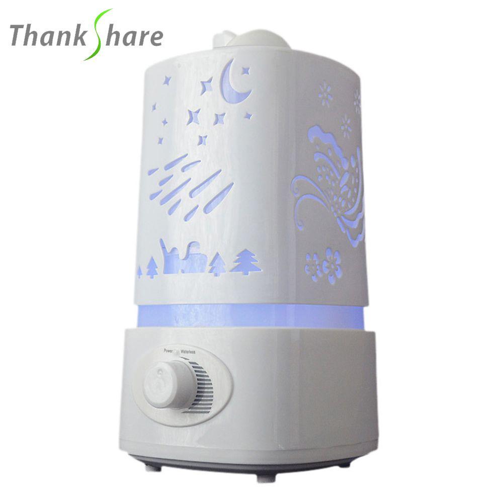 1500 ml Ultrasons Humidificateur D'air pour La Maison Huile Essentielle Diffuseur Humidificador Mist Maker 7 Couleur LED Aroma Diffuseur Aromathérapie