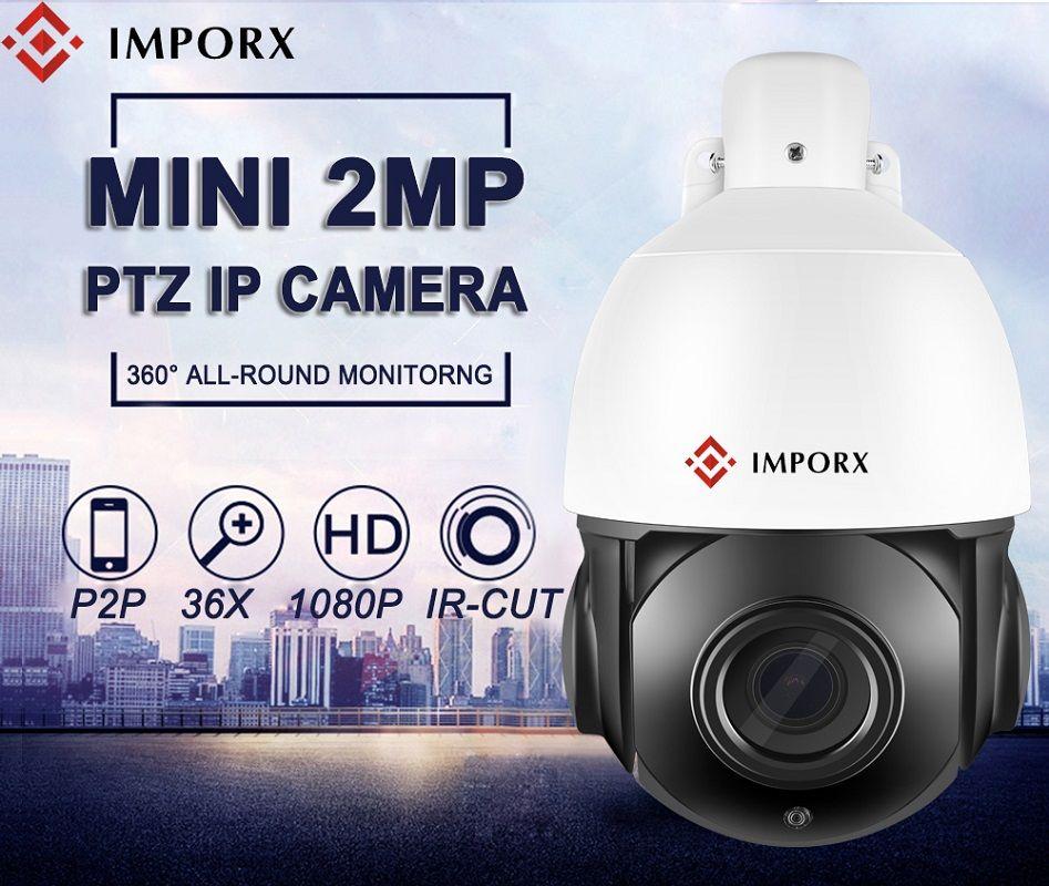 Super Mini 4 Zoll Sicherheit AHD 1080 P PTZ IP Kamera Outdoor Speed Dome Sicherheit Kamera 36X Zoom IR Netzwerk CCTV Überwachung