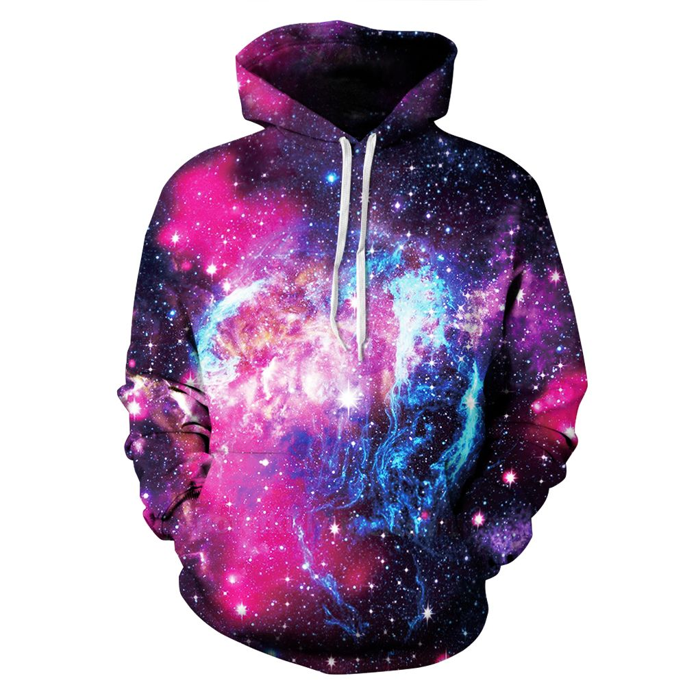 PLstar Cosmos Nouvelle mode Hoodies Pulls Molletonnés Occasionnels Galaxy Espace 3D Imprimer Hip Hop Hoodies Street Wear Clothing Plus La Taille S-3XL