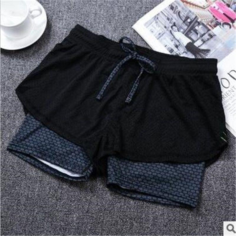 Haute qualité Double pont femmes pantalons 2017 été Style respirant coton doux maille pantalons courts séchage rapide élastique pantalons courts