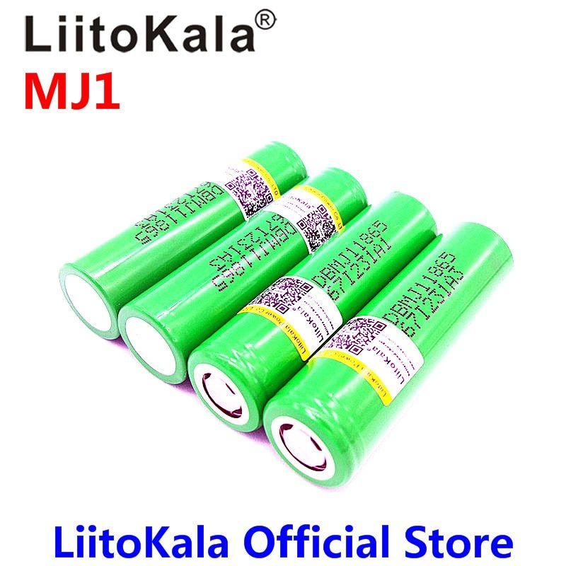 Nouveau LiitoKala pour MJ1 18650 INR18650MJ1 10A décharge batterie li-ion cellule 3500 mah INR18650MJ1 batteries