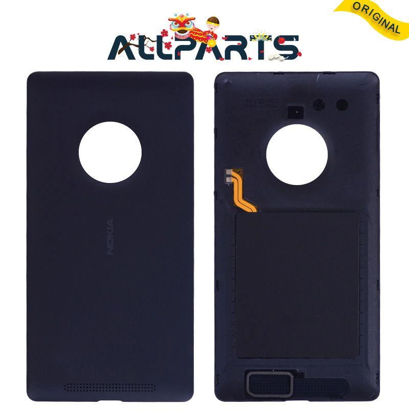 Garantie Retour Logement pour NOKIA Lumia 830 Couverture Arrière avec NFC Noir pour NOKIA Microsoft Lumia 830 Retour Cvoer Batterie porte