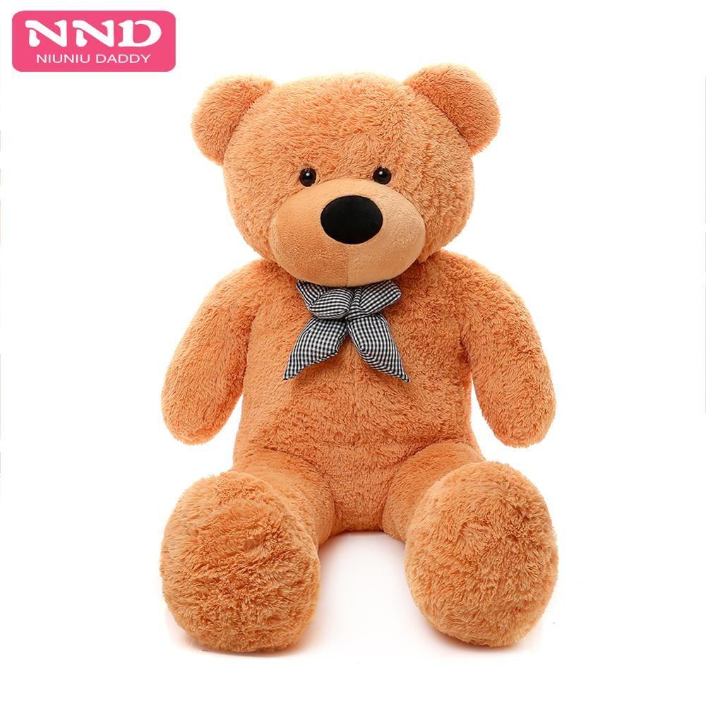 Niuniudad 200 cm ours peaux jouet en peluche ours en peluche ours en peluche tissu en peluche jouet pour enfants et filles cadeaux d'anniversaire