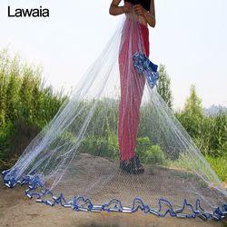 Lawaia американская ручная литая сеть диаметр 2,4 М-7,2 м рыболовная сеть 4,2 м рыболовная сеть 3 М рыболовные сети или без кулона