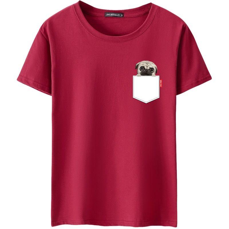 2018 Rundhals Männer T-shirt Casual Stil Sommer Baumwolle Kurzarm Multi Farbe Männlichen Cartoon