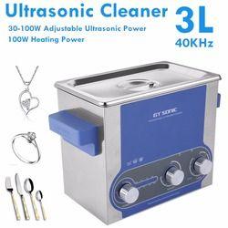 GT Sonic 3L Nettoyeur À Ultrasons Bain De Nettoyage Électronique Pièces Chirurgicales Minuterie Réglage de La Température De Nettoyage Machine GT SONIC-P3