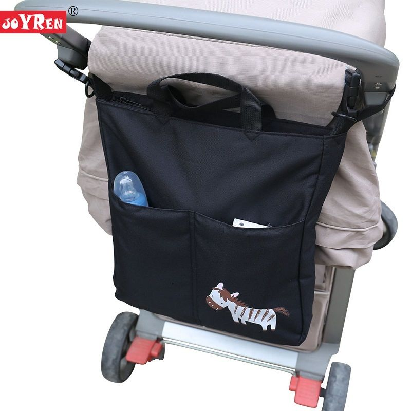 New Brand JOYREN Cartoon Baby Stroller Organizer Accessories Big Capacity Waterproof Bebe <font><b>Carriage</b></font> Bag For Prams KF095