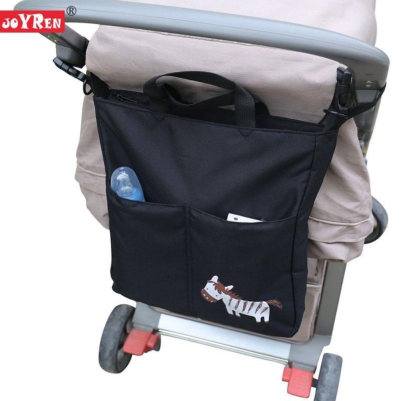 New Brand JOYREN Cartoon Baby Stroller Organizer <font><b>Accessories</b></font> Big Capacity Waterproof Bebe Carriage Bag For Prams KF095