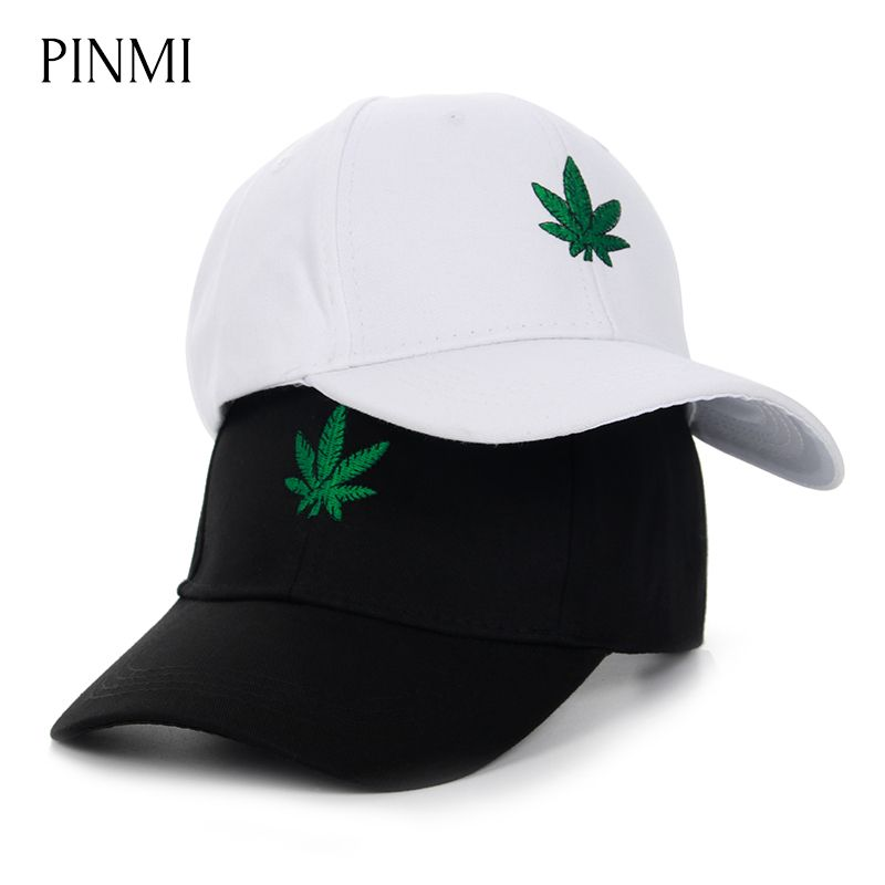 PINMI Embroidery Hemp Snapback Caps Men Street Black Baseball Cap Unisex Vintage Cotton Sun Hat Women Dad Hats Cap Couple Bone
