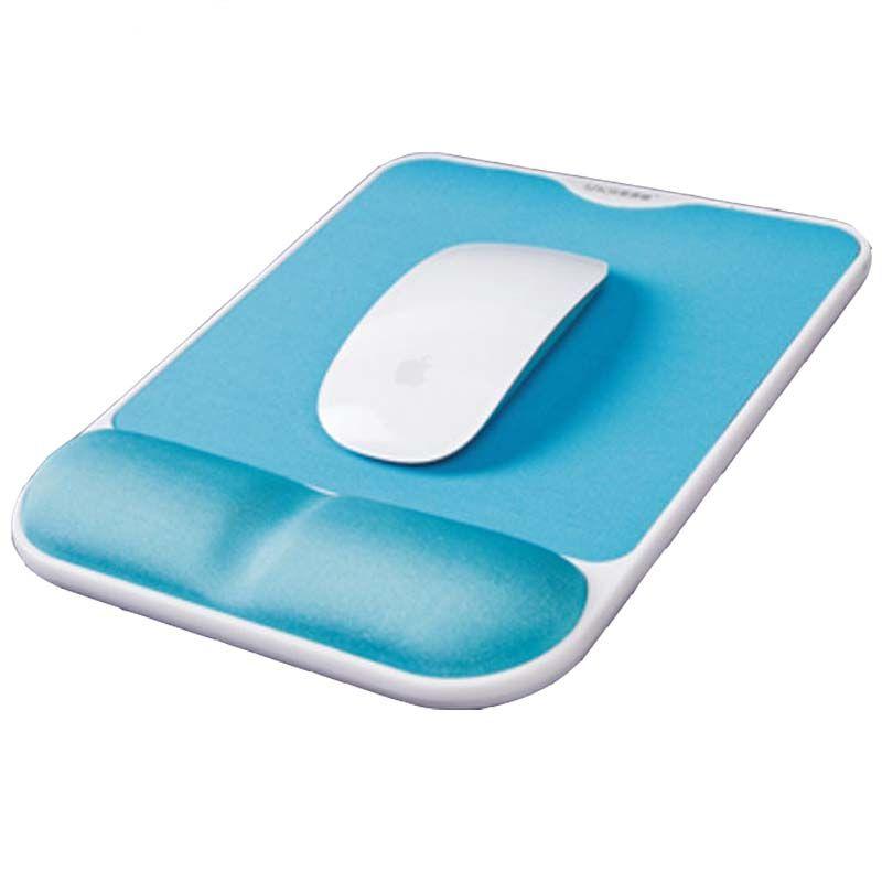 Super fine Fibre mémoire mousse tapis de souris repose-poignet ergonomique confortable tapis de souris Base antidérapante pour ordinateur portable PC Gaming bureau Gamer