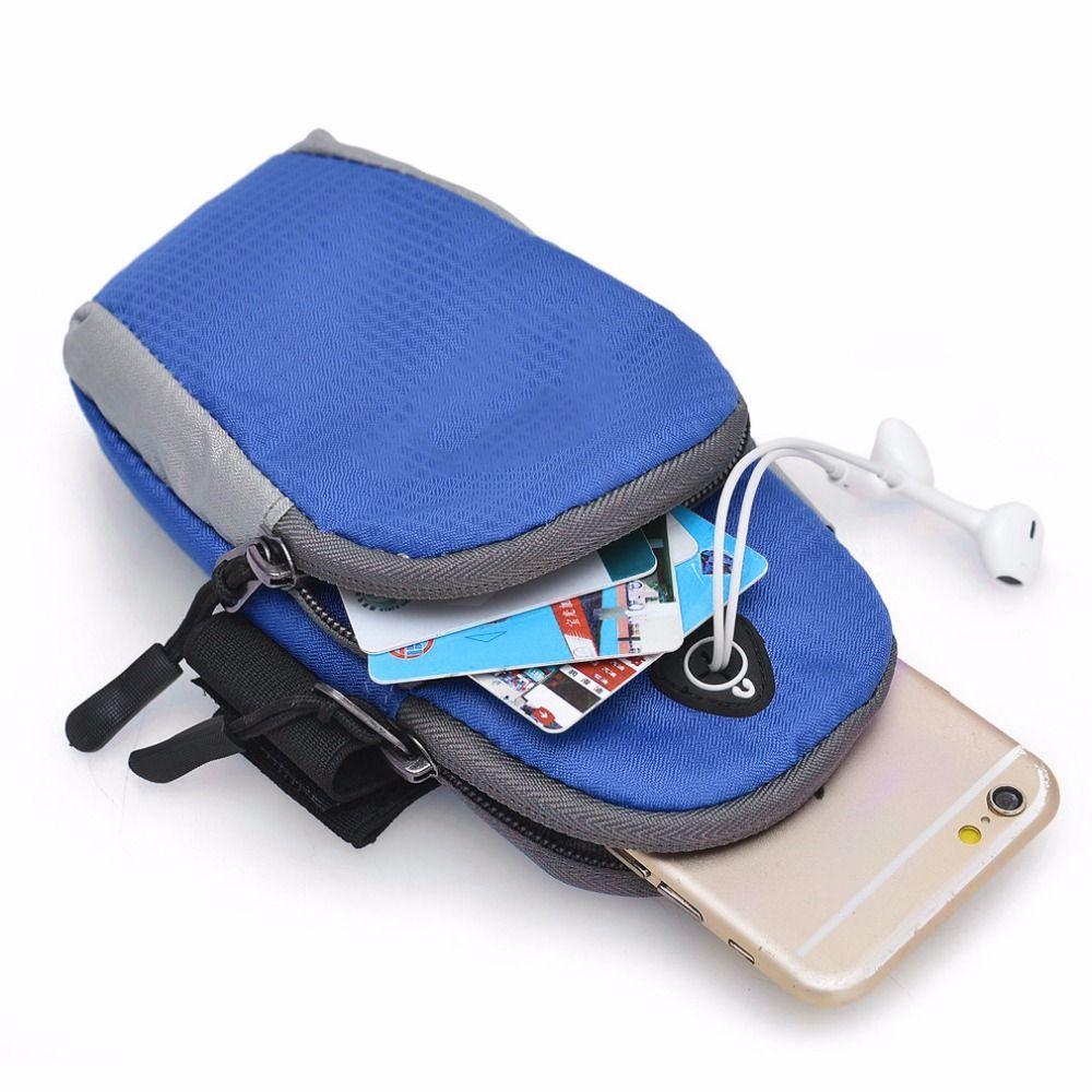5,5 inch Sport Laufen Jogging Gym Arm Band Halter Tasche Für Handys kostenloser versand