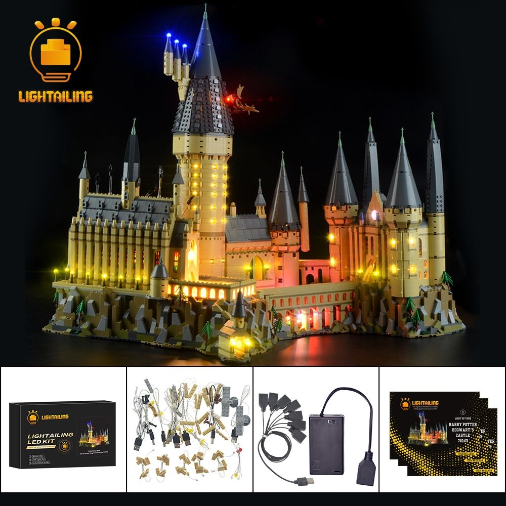 Lightailing Led Light Up Kit For Harry Potter Hogwart's Castle Light Set Compatible With 71043(Not Include The Model)