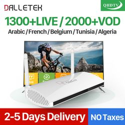 Leadcool Android 6.0 IP TV Box IPTV Arabe Français 1300 + IPTV 1 Année QHDTV Code Abonnement Europe Espagne ROYAUME-UNI Italia IPTV Top boîte