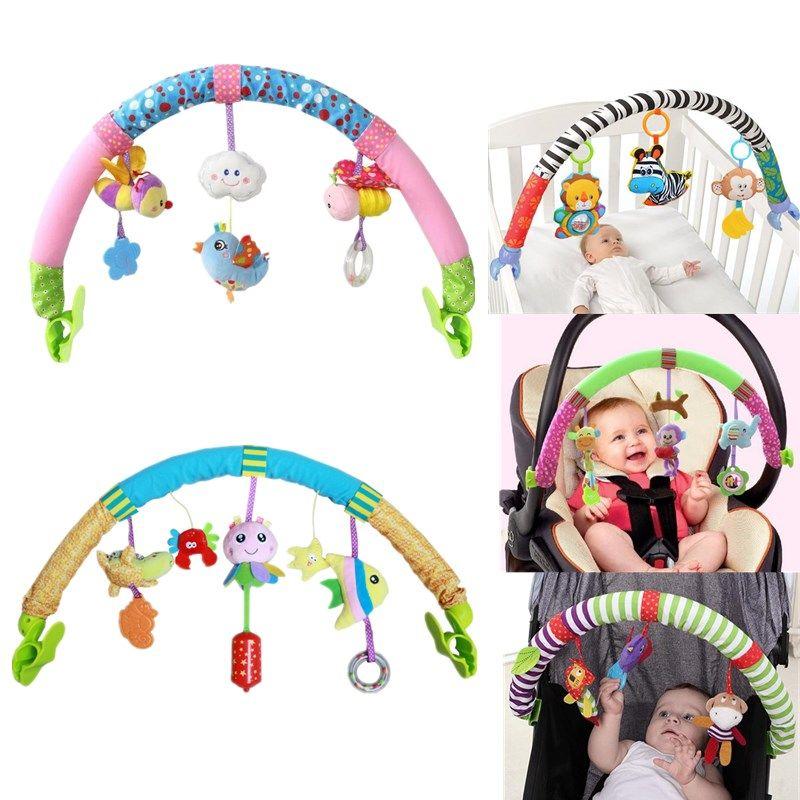 Offre spéciale belle poussette tour siège de voiture lit suspendu jouets bébé jouer voyage bébé bébé bébé jouets éducatifs hochets mobile
