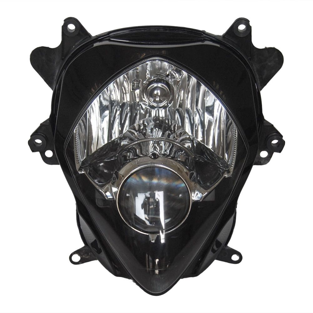 Headlamp Headlamp For Suzuki K7 GSXR 1000 / GSX-R 2007 2008, Front Motorcycle Lighting Head light Replacements BLACK