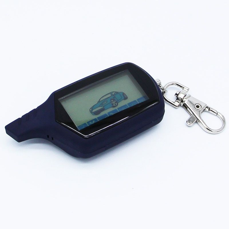 Starline A91 Two way LCD Remote Control Key Fob Chain Keychain Russian Vehicle Security Two Way Car Alarm System Starline A91