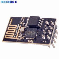 1Pcs ESP8266 ESP-01 ESP01 Serial Wireless WIFI Module Transceiver Receiver Internet Of Things Wifi Model Board For Arduino