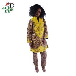 2018 Wanita Afrika Pakaian Bazin Riche Gaun untuk Wanita Dashiki Tradisional Afrika Pour Les Femme Jubah Afrikaanse Atasan