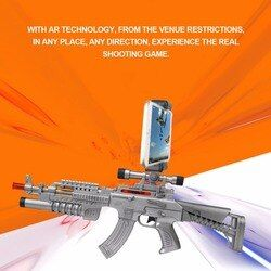 AR Intelligent Game Gun Game Bluetooth Connecting Handle Controller Somatosensory Magic Toy Gun For Children Great Gift