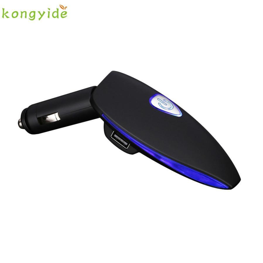 pretty Mini Car Auto Fresh Air Oxygen Bar Ionizer Air Freshner+Dual USB Charging Port dr8