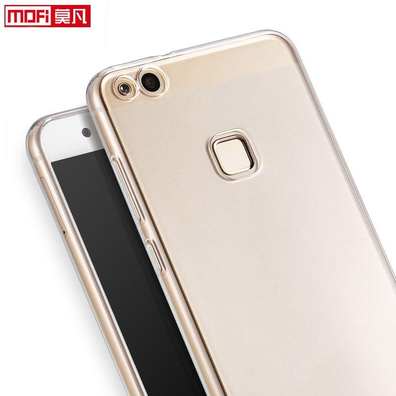 Huawei P10 Lite Cover силиконовый чехол Ясно Мягкая задняя ТПУ Coque ультра тонкий 5.2