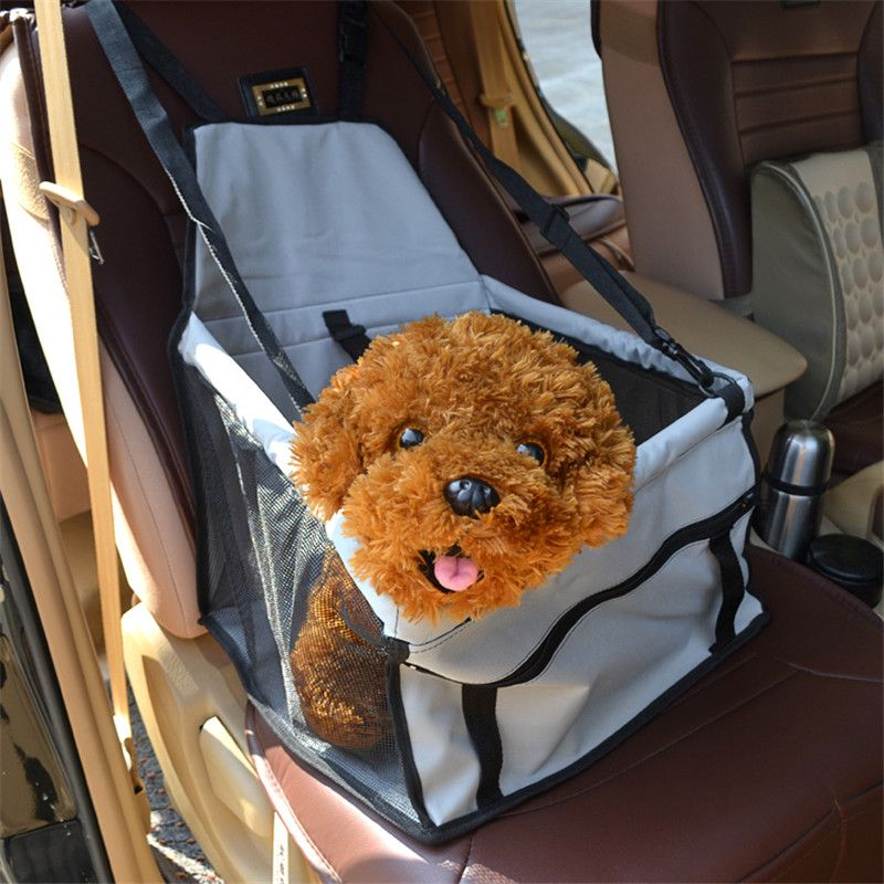 PVC Pet Dog Cat Car Seat Bag <font><b>Carriers</b></font> Small Animal Pet Dog Mat Blanket Cover Mat Protector Breathable Waterproof
