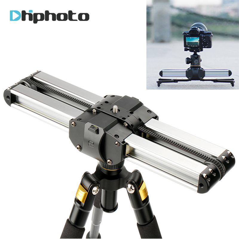 MICRO 2 Pocket Macro Slider Camera Track Video Rail, Easylock Low Stand Macro Blacket Track Rail for Video Camera DSLR Camcorder