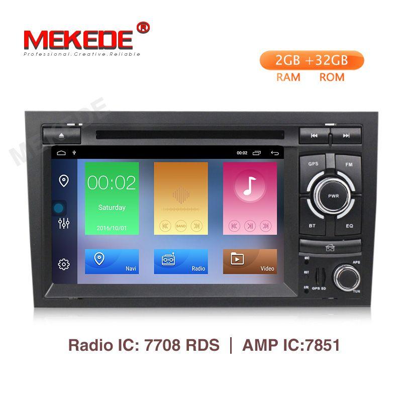MEKEDE 2 Din Android 9.1 Auto Multimedia-Player für Audi A4 B6 B7 S4 B7 B6 RS4 B7 SEAT Exeo dvd player radio WIFI BT CARPLAY PC
