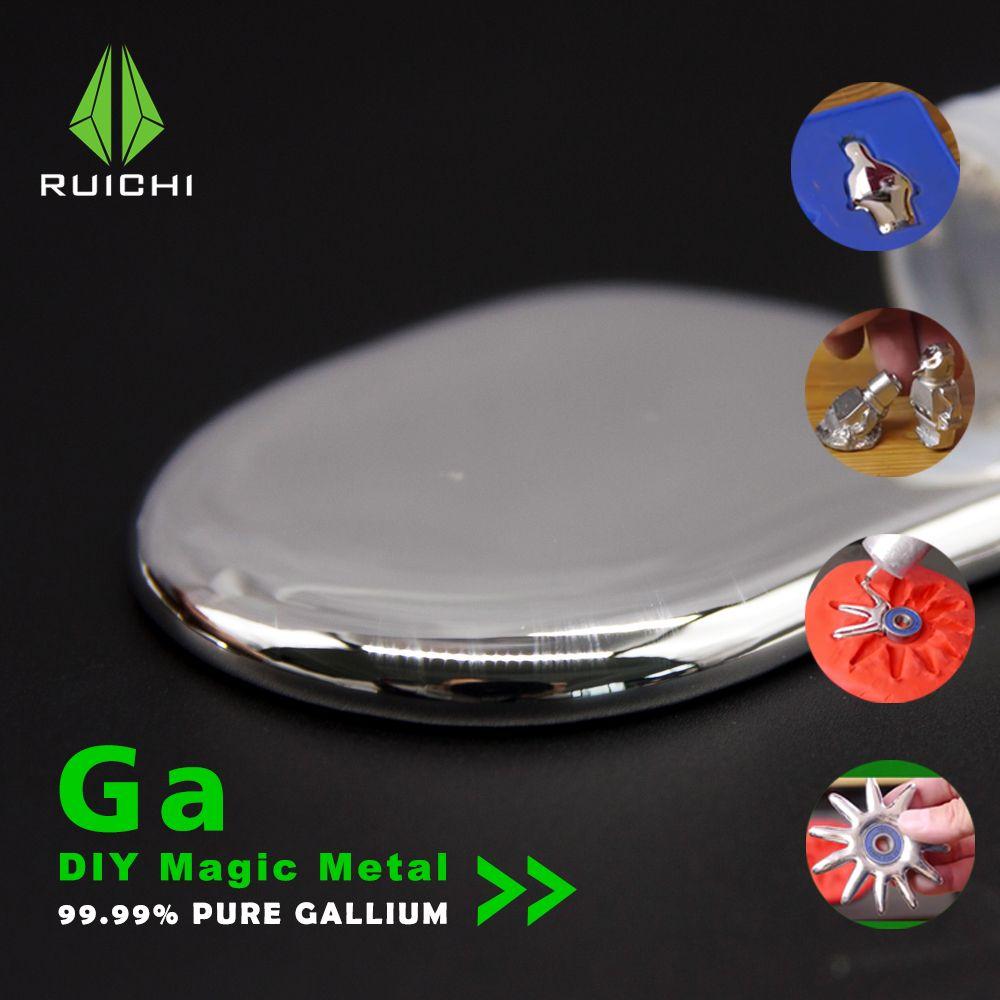 Gallium métal 50 grammes 99.99% pur Gallium métal élément 31 livraison gratuite